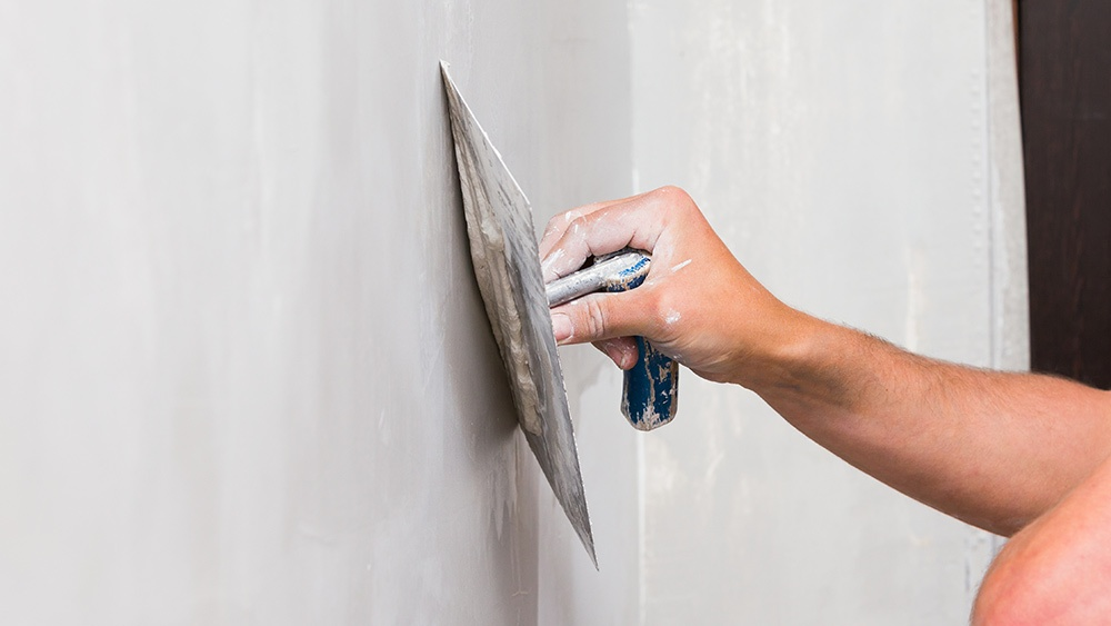 skim-coating-drywall